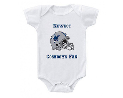 Dallas Cowboys Baby Onesie or Tee Shirt