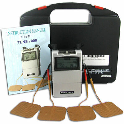 NEW TENS 7000 Digital Back Pain Relief System Unit For Muscle & Joint Aches OTC