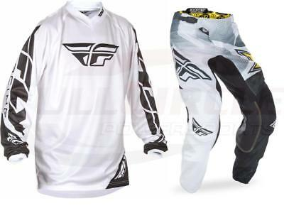 Fly Racing Kinetic Rockstar Pant & Universal Jersey Combo Set MX ATV Riding Gear