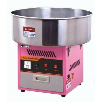 Candy floss machine and metal bowl, candy floss, floss, commercial + 100 stick