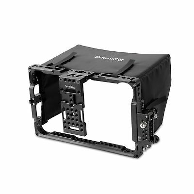 "SmallRig 7"" Director's Monitor Cage 2008 with Sun Hood/Sunshade for ATOMOS Sh..."