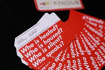 Mta Barbara Kruger Metrocard Who Is Silent Healed 5.50 Fare Ships Now Sold Out