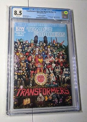 Transformers: More Than Meets The Eye #12 RI Coller Retailer Incentive CGC 8.5