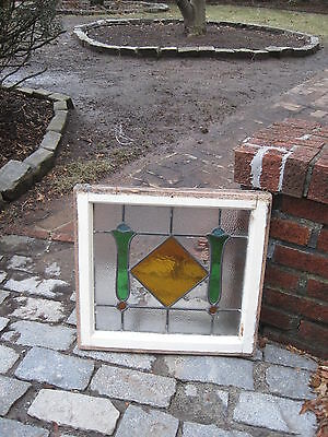 Antique Stained Glass Window Circa 1900 $125.00 Each