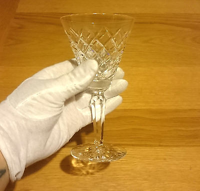 Beautiful Waterford Crystal Wine Glass Irish Cut Glass 2 Available