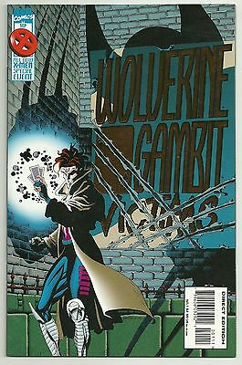 Wolverine Gambit Victims Foil Stamped Cover Marvel Comics Sep 1995 VF/NM