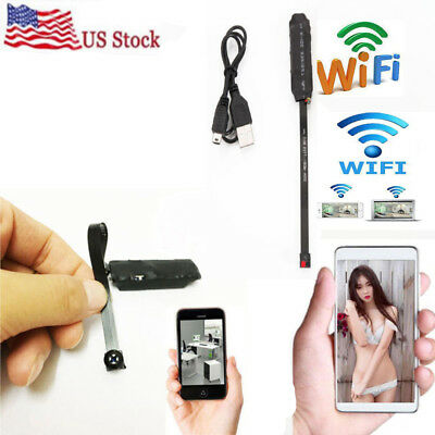 HD Mini Wireless Spy Hidden Video Audio Nanny Pinhole Camera DVR DIY Recorder