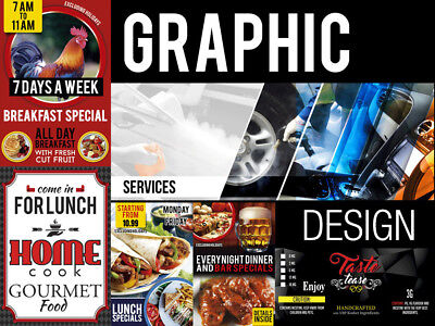 Professional Custom Design For Business And Events | Graphics