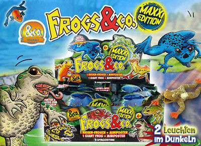 DeAgostini Frogs & Co.Maxxi Edition 1 Display 16 Booster  Neu und OVP