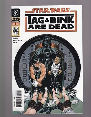 STAR WARS -- Tag and Bink Are Dead #1 & #2 -- FULL SERIES -- Han Solo Movie A