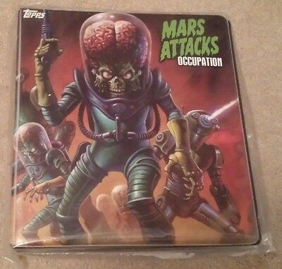 2016 Topps Mars Attacks Occupation Limited Edition Alex Horley Binder