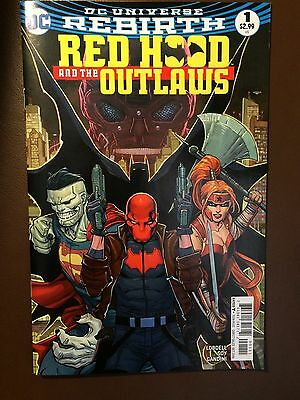 DC comics: RED HOOD AND THE OUTLAWS # 1, Rebirth, 1st print