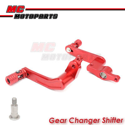 CNC Red Gear Shifter Rear Brake Pedal For Ducati 1199 Panigale 12-17 13 14 15 16