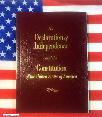 U.S. Pocket Constitution & Declaration Of Independence Amendments USA Ships Free
