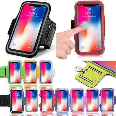 Fancy Sports Armband For iPhone X Running Jogging Exercise Case Workout Holder