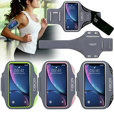 GBOS® Adjustable Gym Armband For iPhone X Running Jogging Exercise Workout Case
