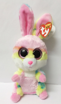 Ty Beanie Boos Big Eyes Lollipop Rabbit Doll Plush Toys New Christmas Gifts 17cm