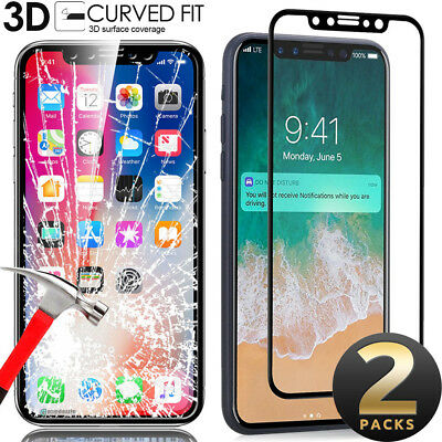 Apple iPhone X 100% GENUINE TEMPERED GLASS FILM SCREEN PROTECTOR