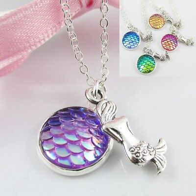 H20 Just Add Water Mermaids Pendant Necklace Xx H2o Locket V2