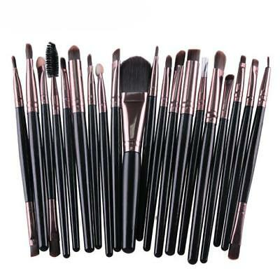 Hot 20pcs Makeup Brush Set Foundation Eyeshadow Eyeliner Lip Brushes kit Tool