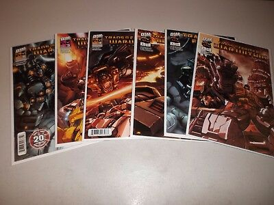 Transformers: War Within The Dark Ages #1-6 (Complete DW 2003 series) Lot set