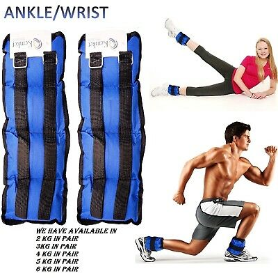 Ankle Wrist Weights Running Exercise Adjustable Wrist Strength Gym