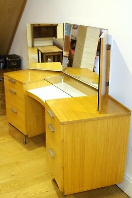 Stag Fineline Mid Century Dressing Table or Desk by Sylvia & John Reed