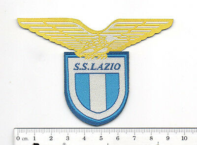 Serie A Football Club Patch Lazio soccor Embroidered badge logo iron On italy