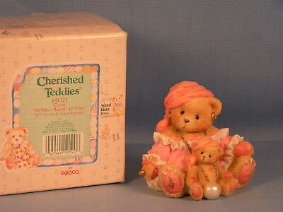 Carrie - The Future Beareth All Things - Cherished Teddies #141321
