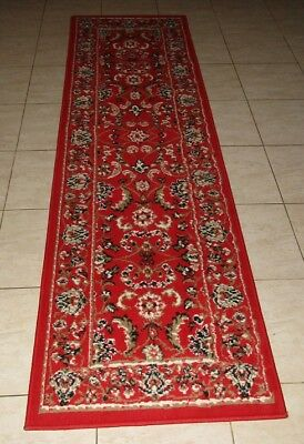New Persian Design Floor Hallway Runner Rug 67X230Cm