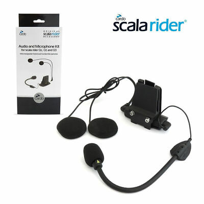 Cardo Scala Rider Helmet Audio & Microphone Kit with Dual Mic for QZ, Q1 & Q3