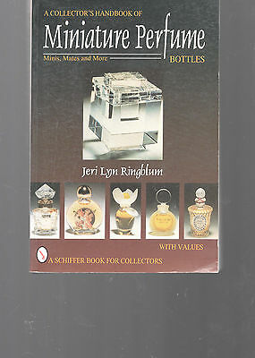 Miniature Perfume Bottles Identification & Value Guide-Ringblum-264 Pages-Nice