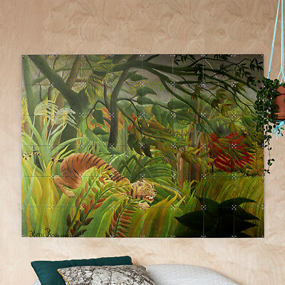 NEW IXXI Henri Rousseau Surprised! wall art (multiple sizes) by Until