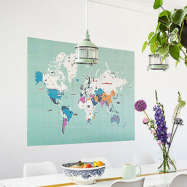NEW IXXI around the world wall art (multiple sizes) Women's by Until