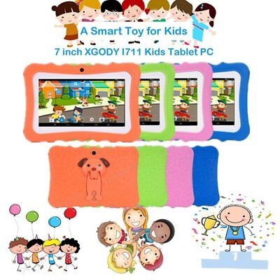 """7""""ANDROID TABLET 4GB QUAD CORE Dual Camera & WIFI for Kids Children 1024*600 MG"""