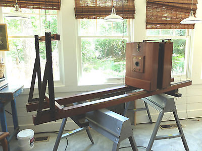 MULTILITH PROCESS GRAPHICS CAMERA HISTORICAL 8X10 1920's could be enlarger 11x14