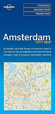 Lonely Planet Amsterdam City Map by Lonely Planet (Sheet map, 2016)