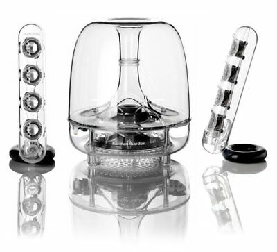 Harman Kardon Soundsticks III 2.1 Channel Multimedia Speaker System with Laptop
