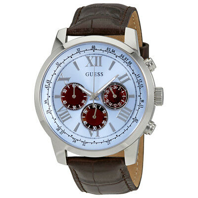 Guess Horizon Chronograph Blue Dial Mens Watch W0380G6