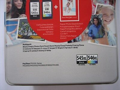 ORIGINAL Multipack black color CANON PG-545 XL + CL-546 XL MG-2550-2450-2950