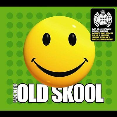 Ministry Of Sound - Back to the Old Skool Vol.1  (2 X CD ' Various Artists)