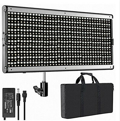960 LED Light Panel Illumination Dimming Brightness 5600K for Camera