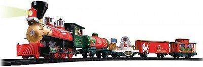 Christmas Holiday North Pole Express Train Set w/ Wireless Remote Control