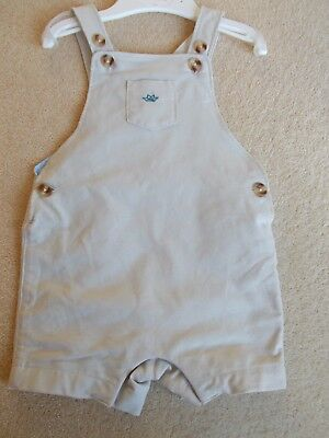 M & S Marie Chantal Baby Boys 3-6 months sand shorts dungarees RRP £28