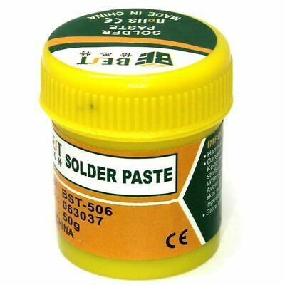 UV Curing Soldering Paste Flux Mobile Phone Tablet PCB Solder Repair 50g BST-506
