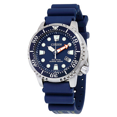 Citizen Promaster Professional Diver Dark Blue Dial Mens Watch BN0151-09L