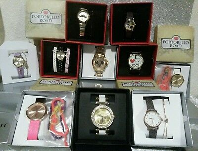 JOB LOT WHOLESALE 10 Spirit &Portobello Road Ladies/Girls Watches £250 NEW GIFTS