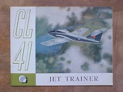 1959 Canadair CL-41 (CT-114 Tutor) Jet Trainer aircraft aviation book