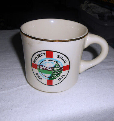 Boy Scouts of America Collectible Coffee Mug - PROJECT SOAR 1971