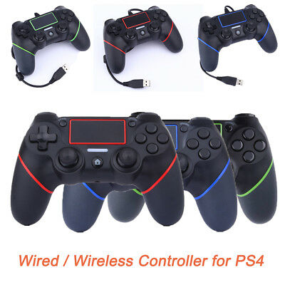 UK Wired/Wireless Controller Gamepad Console Joystick for PS4 PlayStation4 New